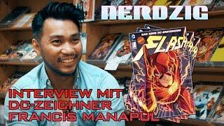 Interview mit Francis Manapul - Zeichner bei DC von The Flash und Batman