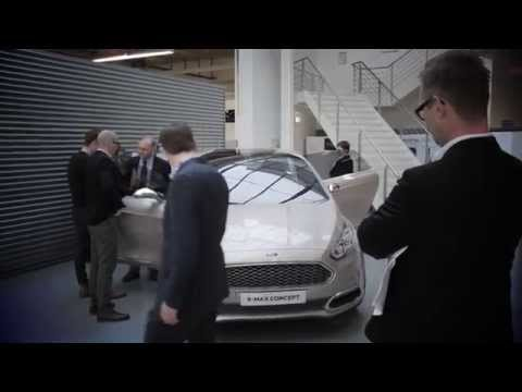 """Ford enthüllt S-MAX Vignale Concept in Mailand und stellt """"Vignale Lounge""""-Vision auf Salone del Mobile vor"""