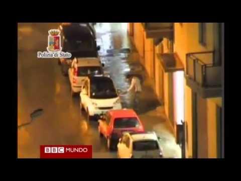 Graban reunión de capos de la mafia siciliana. Imagenes de una reunión de la mafia en Italia.