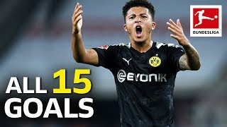 Jadon Sancho - All Goals So Far