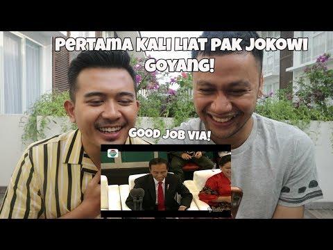 Meraih Bintang - Via Vallen Asia Games 2018 [REACTION] Merinding! + Goyang Pak Jokowi Viral!