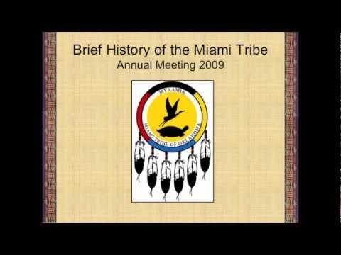 Myaamia History Presentation