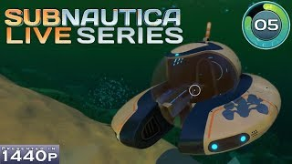 Subnautica (Blind) - Part 05 - Crafting The Seamoth - Gameplay / Let