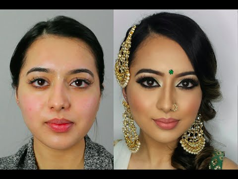 Indianbollywoodsouth Asian Bridal Makeup Start To Finish Mona