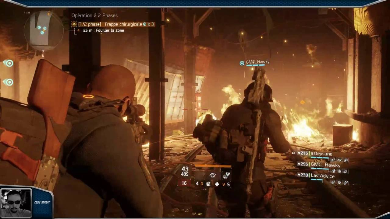 Cedy stream - Tom Clancy's The Division - YouTube