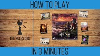 How to Play The Stonebound Saga: Visions of Telios in 3 Minutes - The Rules Girl