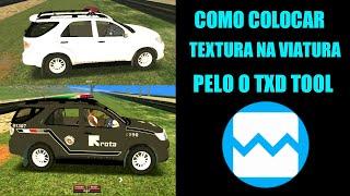 COMO COLOCAR TEXTURA NA VIATURA PELO TXD TOOL GTA SA ANDROID