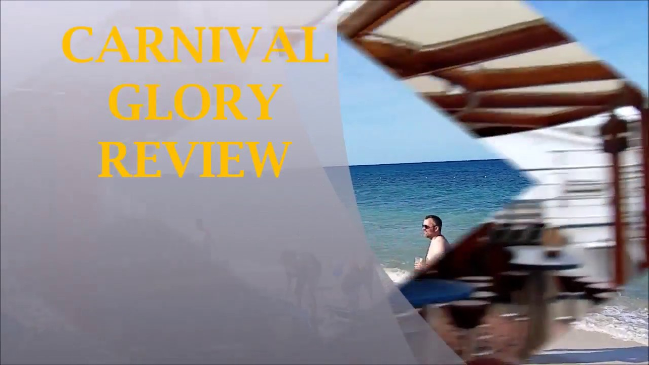 Carnival Glory Review - YouTube