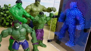 Hulk Rhythm Dance Stage Stop Animation and Pinart ハルクのすぽすぽリズムバトル ピンアートで型つくり