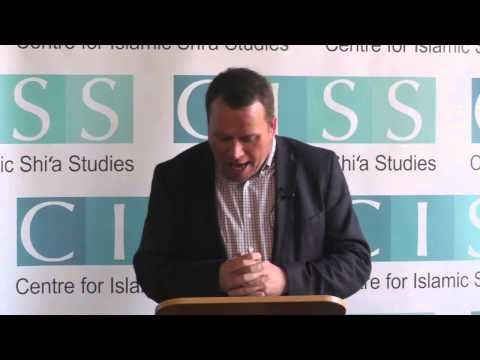 CISS Shi'a Studies Journal Launch – Professor Oliver Scharbrodt