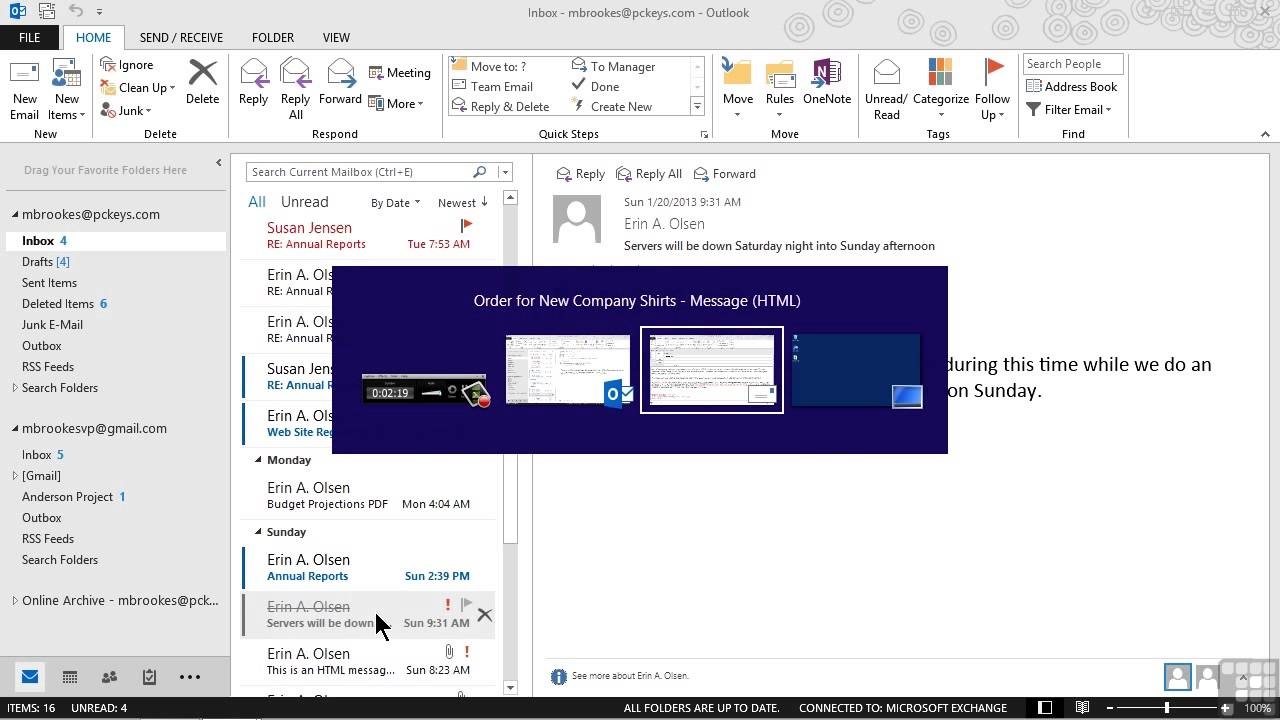 Microsoft Outlook 2013 Tutorial | Setting Message Expiration