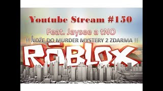 Roblox Stream feat. Jaysee a Tno #150 /CZ,SK/