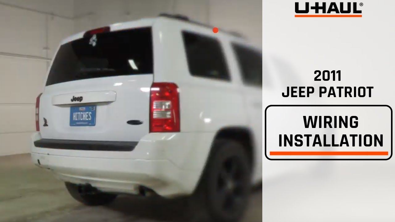 2011 jeep patriot trailer hitch installation youtube rh youtube com