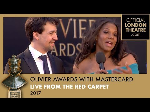 Live From The Red Carpet at the Olivier Awards 2017 with Mastercard