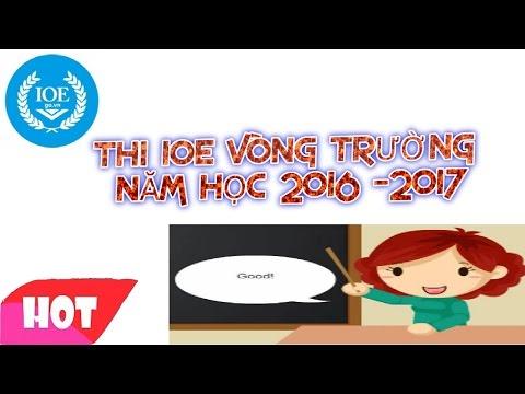 IOE Tieng Anh lop 4
