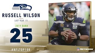 #25: Russell Wilson (QB, Seahawks) | Top 100 Players of 2019 | NFL