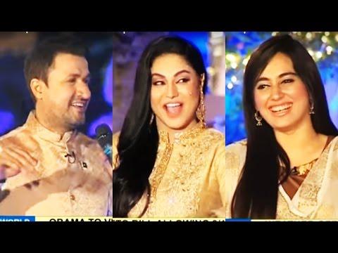 Daawat e Eid Special 14 September 2016 - Veena Malik & Raheem Shah - Dunya News