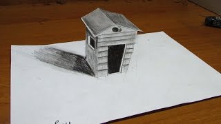 How To Draw 3D HOME