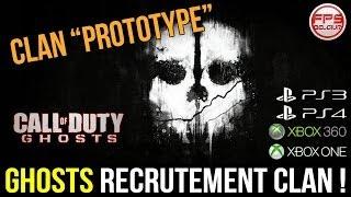 Ghosts // Recrutement Clan