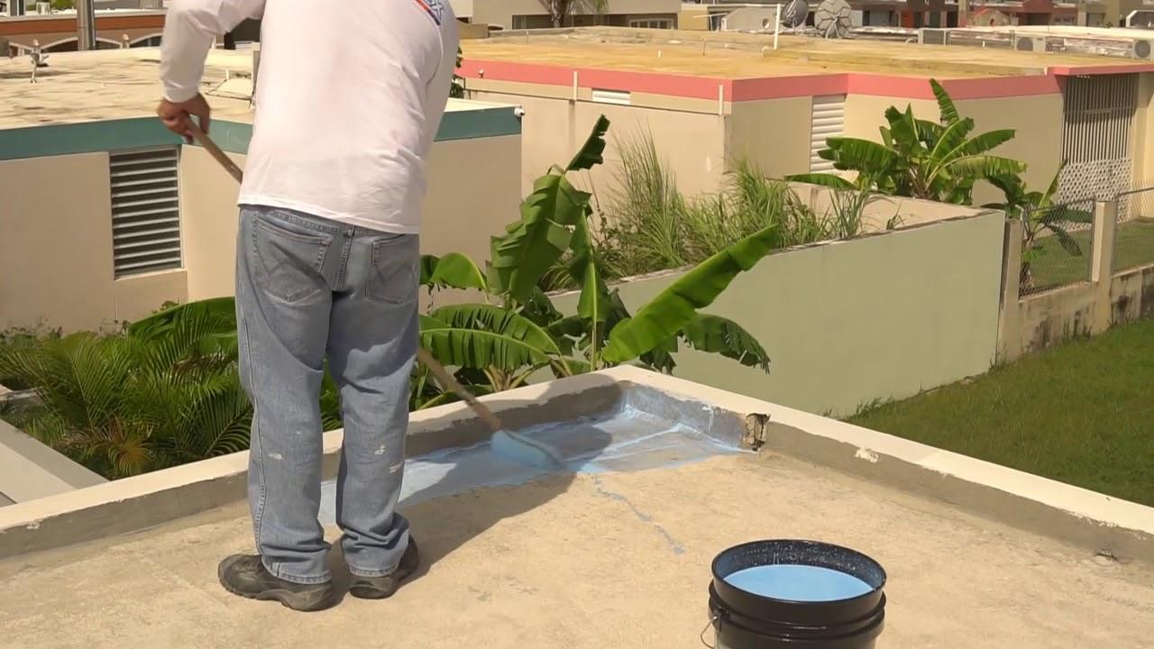 PASO 2 - Cómo preparar su techo antes de sellar
