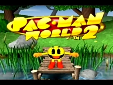 PacMan World 2 XBOX Walkthrough Part 1 of 2