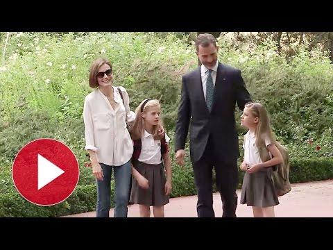 Lo nunca visto de Felipe VI y Letizia Ortiz | Diez Minutos