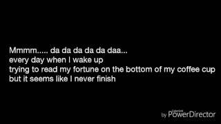 Life goes on - Fergie (lyrics)