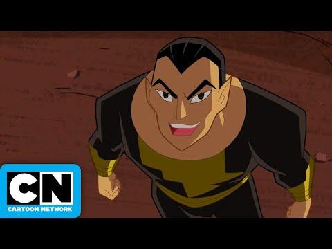Justice League Action | Black Adam VS Shazam! | Cartoon Network streaming vf