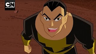 Justice League Action | Black Adam VS Shazam! | Cartoon Network