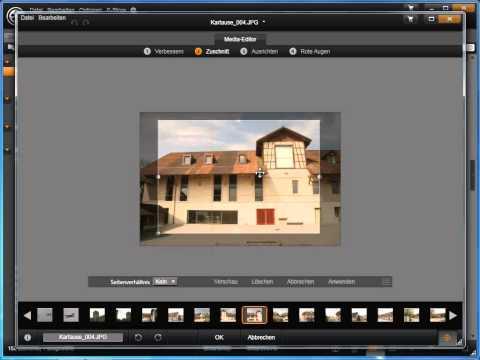 Foto Korrekturen in Avid studio und Pinnacle Studio