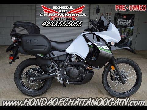 Used 2014 Kawasaki KLR650 New Edition For Sale / Walk-Around - Honda