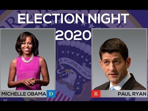 2020 Election Night | Michelle Obama vs Paul Ryan