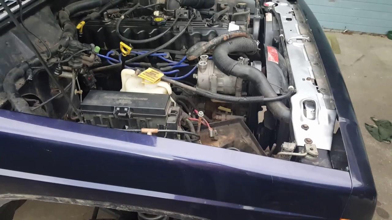jeep xj cherokee 3 core radiator zj fan clutch [ 1280 x 720 Pixel ]