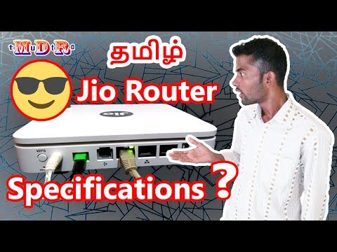 [ Mumbai Tamil ] Jio Gigafiber Router Specification 😇 & broadband Plans Explained in Details ❗