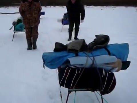 ящик санки для зимней рыбалки своими руками