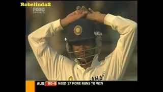 India bowls Australia out for 93 - 4th test 2004.