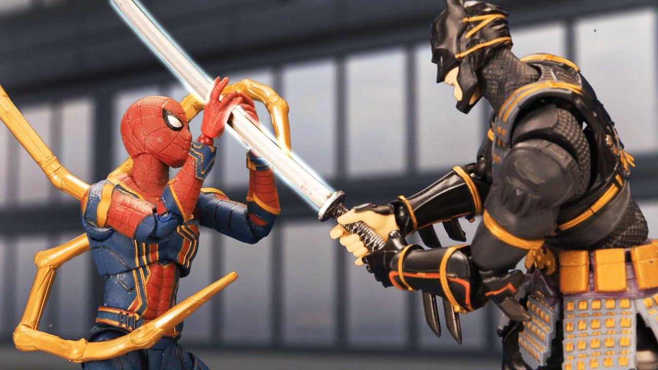Marvel vs DC: Spider-Man Attacks Batman Ninja | Official Trailer | Figure Stopmotion