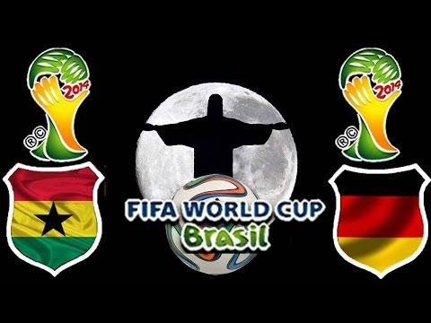 World Cup Brasil 2014 - Gruppenphase - Ghana vs. Deutschland