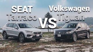 SEAT Tarraco VS Volkswagen Tiguan - Primas en guerra | Autocosmos Video