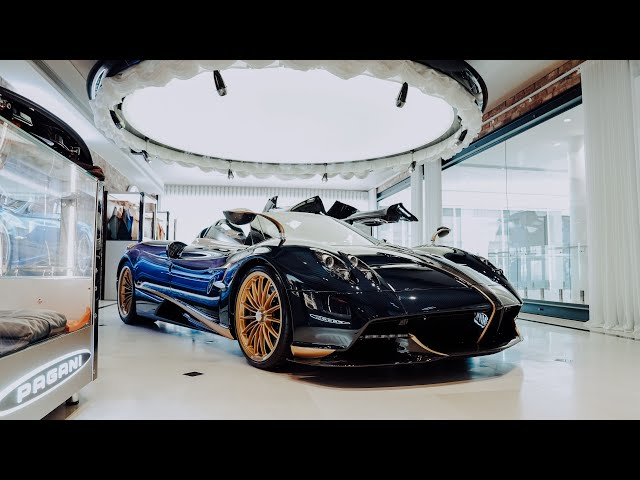 Zagame Automotive -  Pagani Huayra | 4K