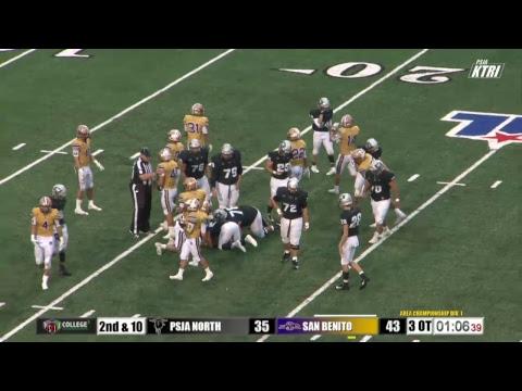 282dbef7a3e8 PSJA North Raiders vs San Benito Greyhounds Area Championship - Divison 1