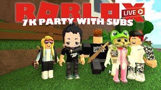 7K Sub Party! | ROBLOX Live Stream