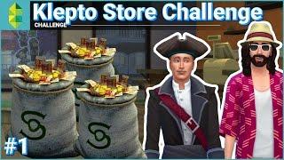Klepto Store CHALLENGE (Sims 4) with Zeuz - Part 1 / 3