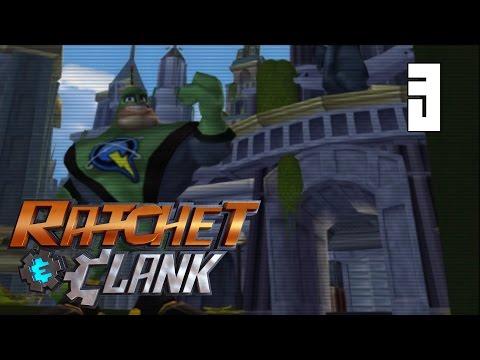 Ratchet & Clank (2002) #3 - Planet Kerwan - Metropolis [PS2 Walkthrough]