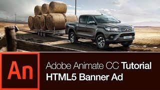 Animate CC Tutorial: Erstellen Sie ein Banner Ad