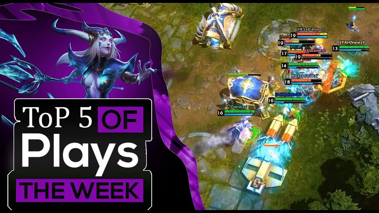 HoN OMG | Top 5 Plays Of The Week #16/9/2018 + OMG Moments #05