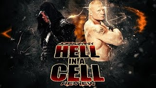 wWE Hell In A Cell 2015 Review - WTR #411 Deutsch/German