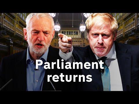 LIVE: MPs return