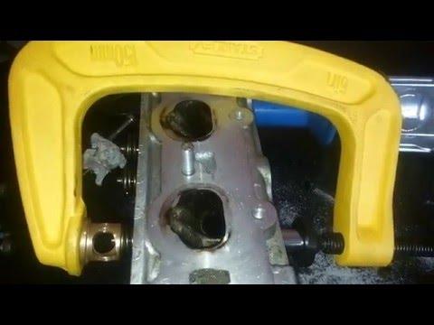 Guida/Tutorial smontaggio valvole su testata Fiat FIRE 1.2 - 1.4 16v