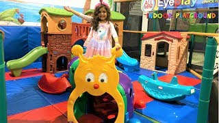 Indoor playground for kids play time !! family fun video